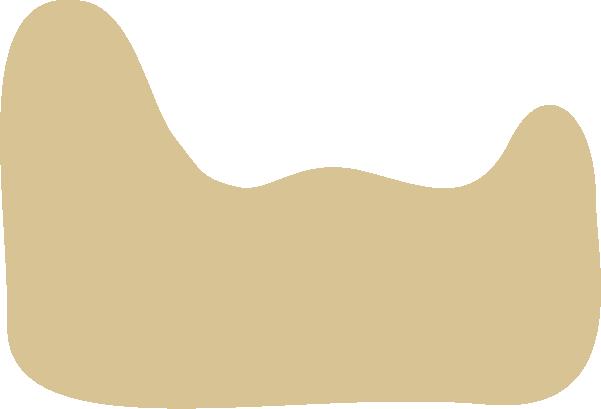 色塊異形手繪幾何形狀