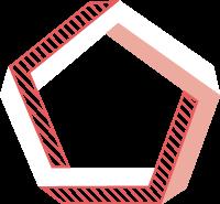 pentagongeometrygraphicalredline
