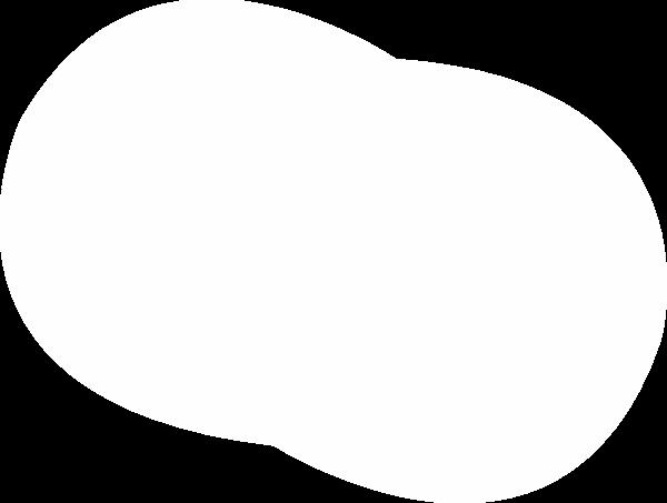 圆形圆几何白色边框