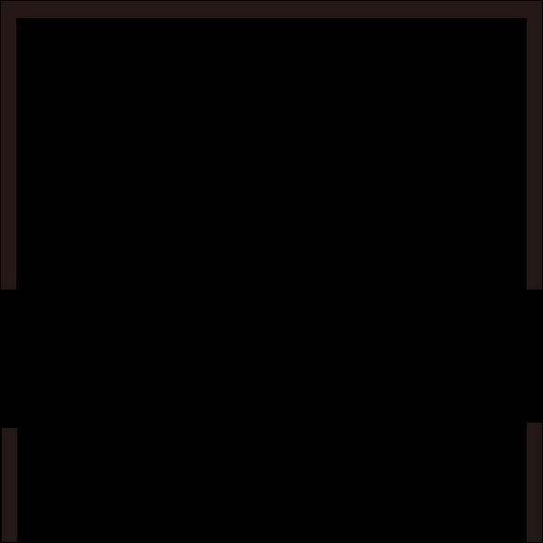矩形装饰简约黑白几何