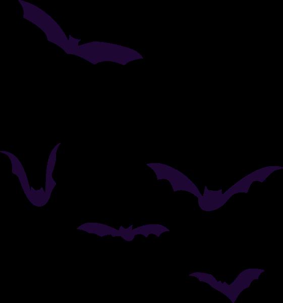 蝙蝠动物剪影万圣节卡通