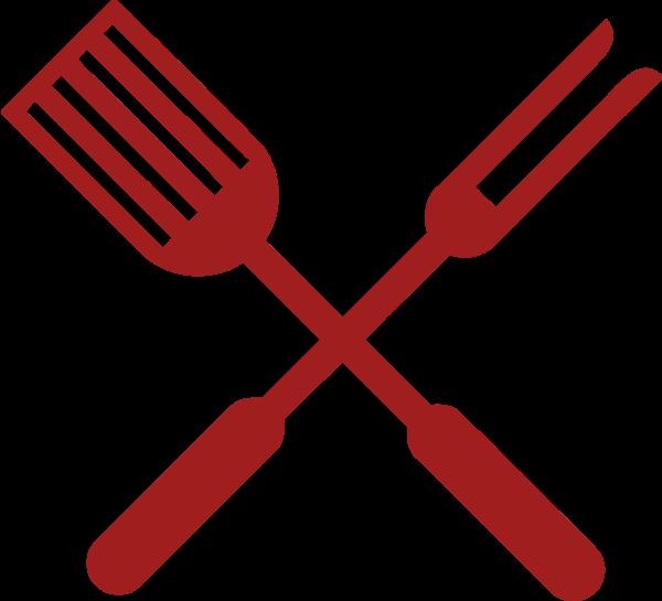 厨具标志标识叉餐厅
