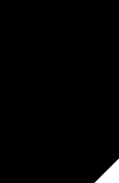 五边形图形装饰简约缺角矩形