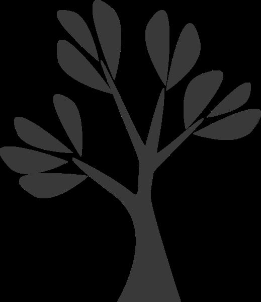 植物树树木剪影树叶