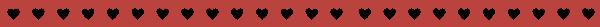 爱心红色花纹花边装饰