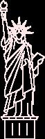 自由女神像美国landmarktraveljourney