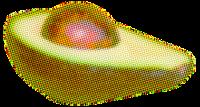 水果鲜果牛油果生鲜食物