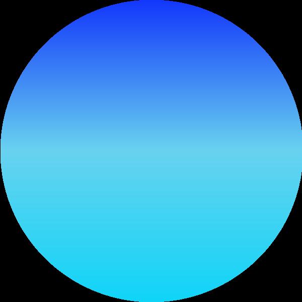 球渐变圆圆形装饰
