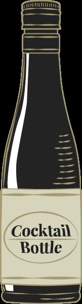 鸡尾酒酒精酒酒瓶饮品