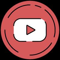youtube油管社交媒体视频网站播放键