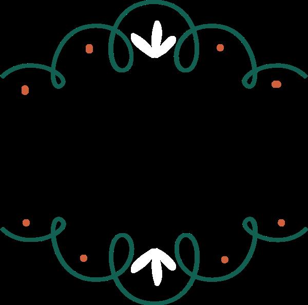 圆环画框便签边框形状