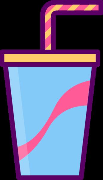 可乐饮品饮料杯子吸管