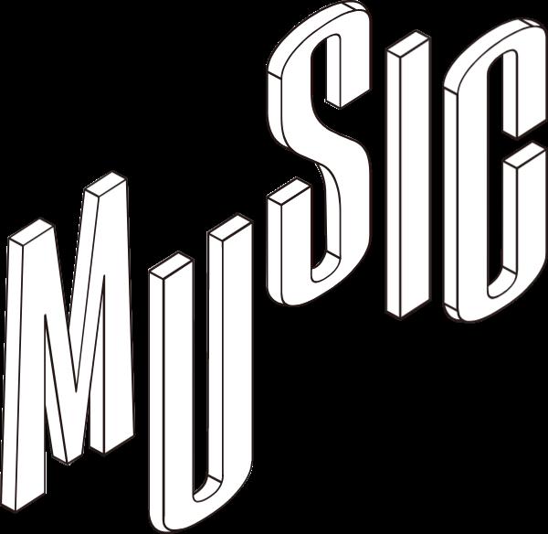 music音乐字母字符英文