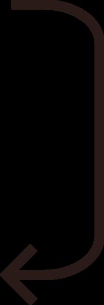 箭头标志左下箭头icon图标
