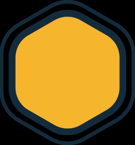 框指示灯多边形装饰icon