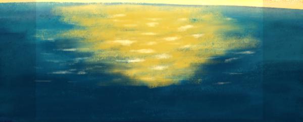 水面水湖面底紋紋理