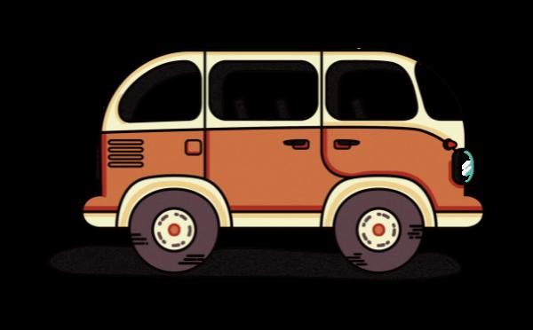 车公交车大车交通交通工具