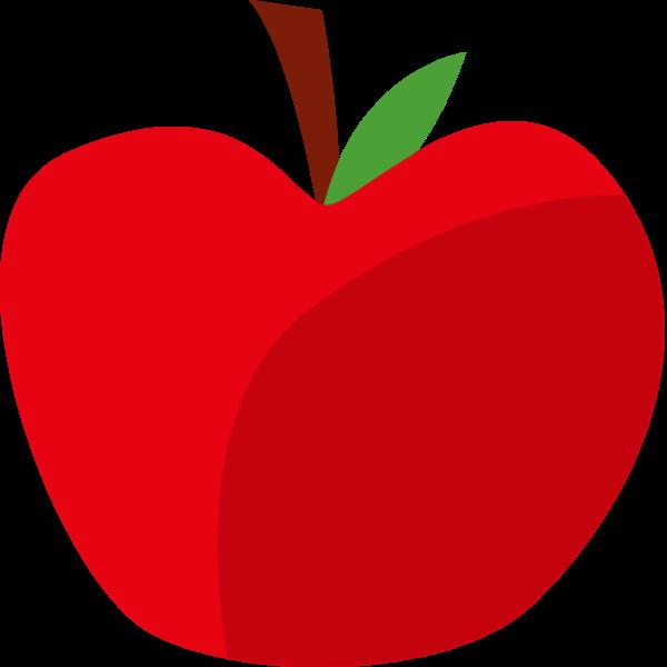 苹果水果食物季节手绘