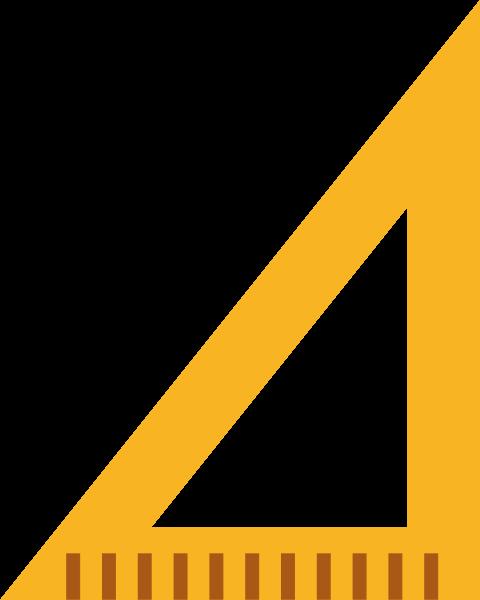 三角板三角尺尺子文具學習