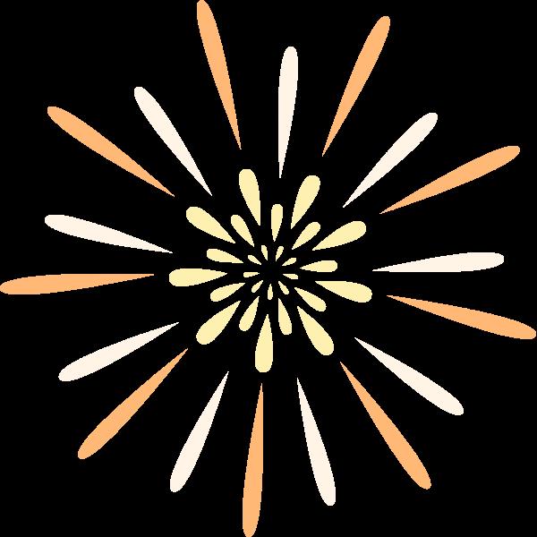 烟花焰火花礼花装饰