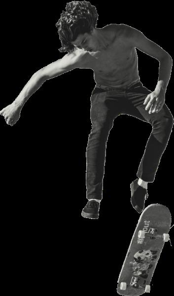 滑板运动男人男性人