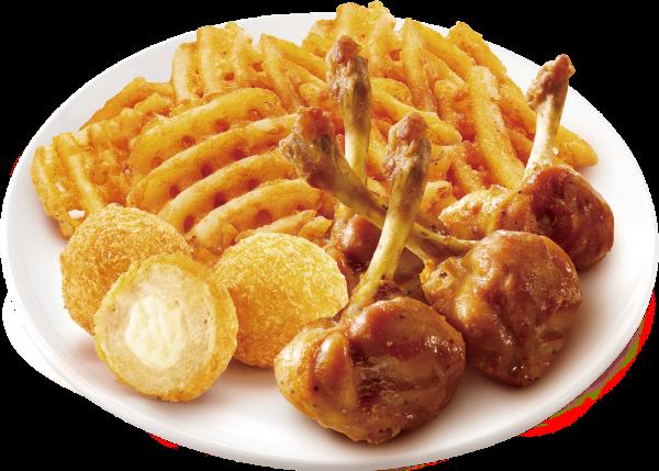 炸鸡油炸美食抠图照片