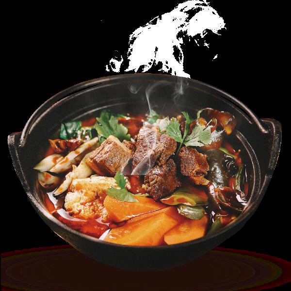 砂锅实物抠图照片餐饮