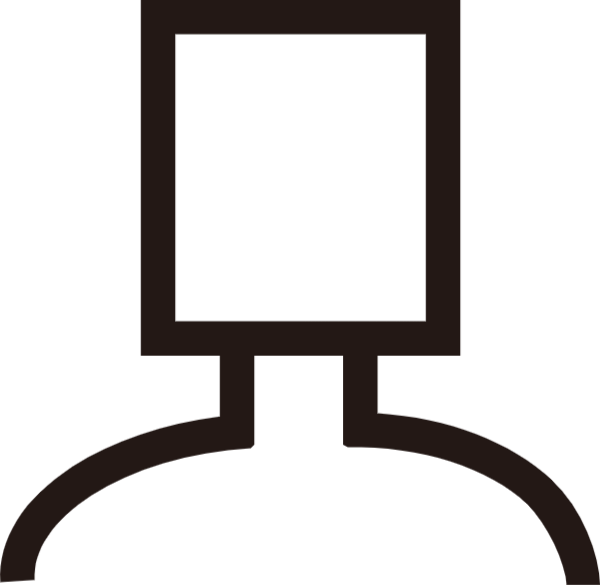 人简笔icon辅助元素异形