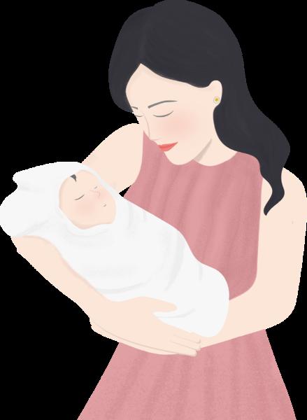 女人女性人人物婴儿