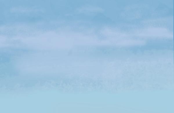 背景图片手绘天空蓝天