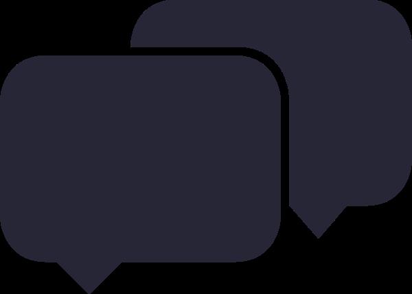 对话框短信消息矢量手绘