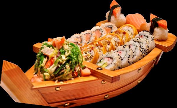 寿司生鱼片日料日式料理照片