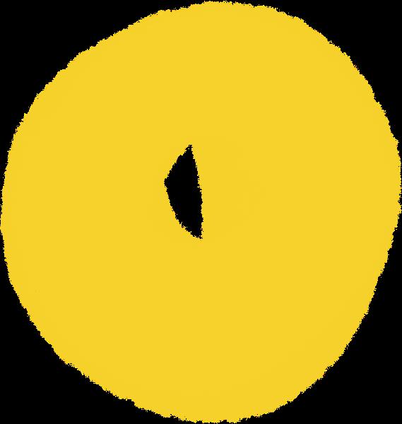 圆形圆装饰元素手绘装饰