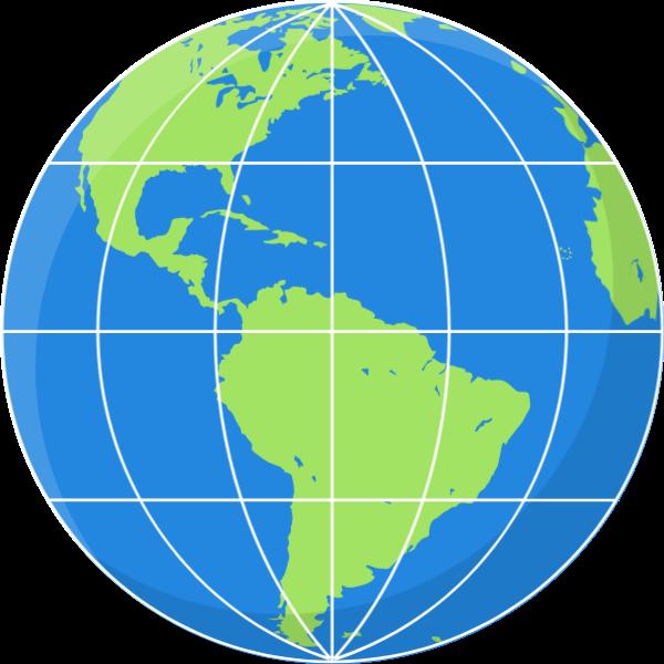地球国际全球地球仪版图