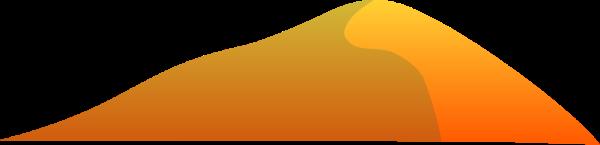 山山峰沙漠沙丘土堆