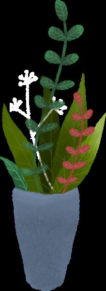 花瓶花植物绿植盆栽