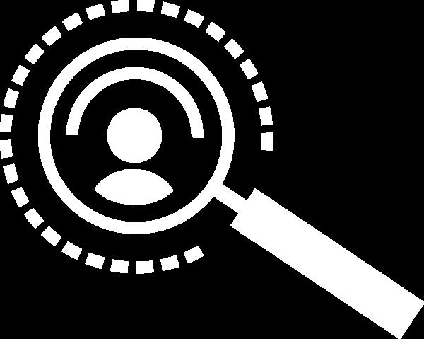 放大镜人物工具icon图标