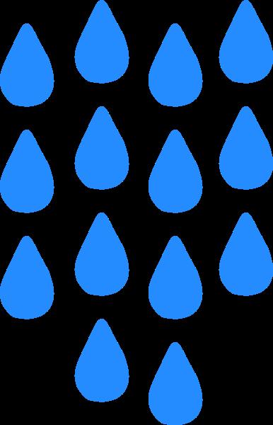 下雨雨滴雨天雨水天空