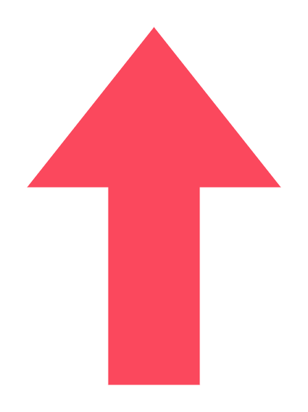 箭头向上箭头icon图标