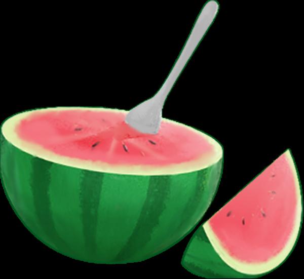 西瓜水果季节手绘食物