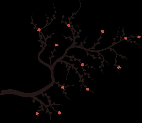 树枝树杈枝桠树干
