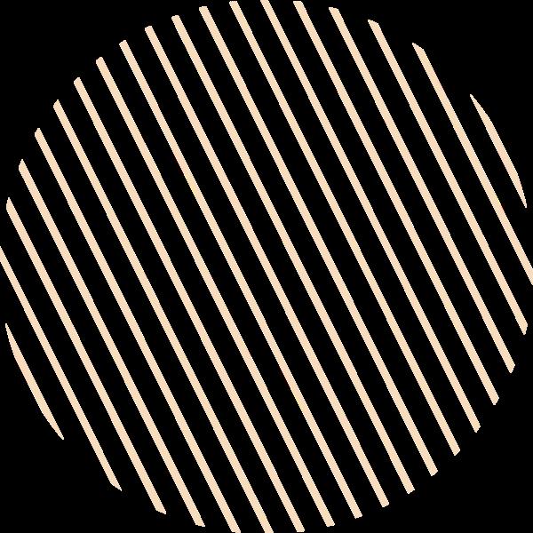 圆形圆斜杠条纹矢量