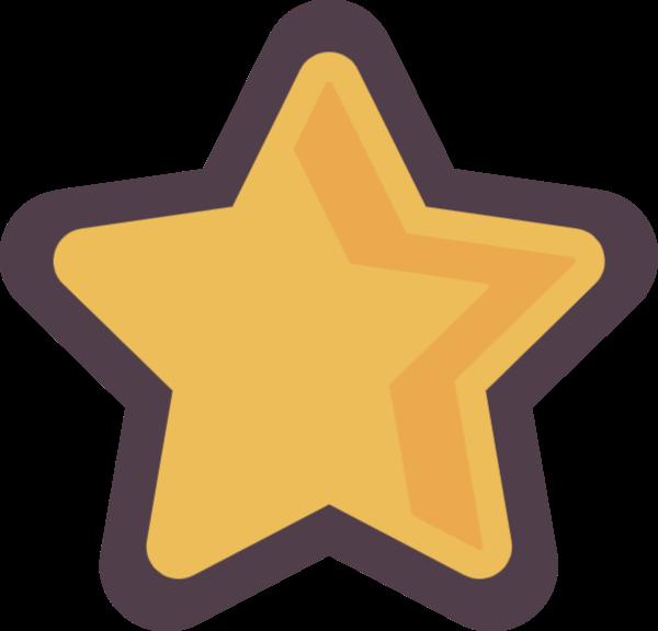 星星几何体三角形长方形装饰