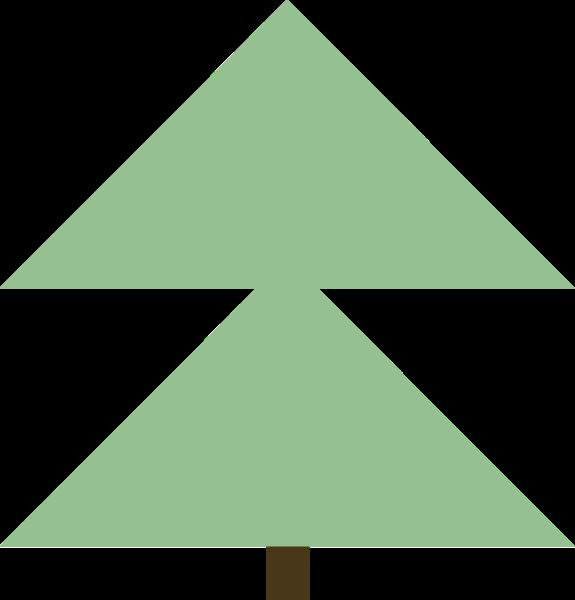 树圣诞树小树小树苗卡通