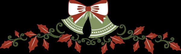 花边铃铛圣诞圣诞节对称