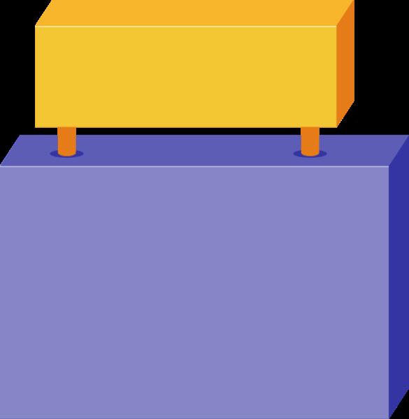 招牌牌子积木工具标题