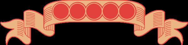 标题栏绸带丝带标题框标题