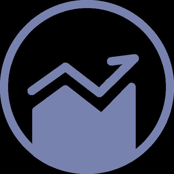 走势图数据图分析圆icon
