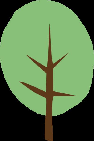 树木树树叶绿叶小树