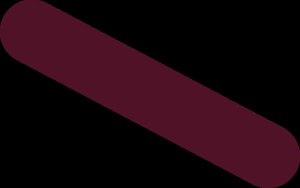 斜杠条状标题栏粗线装饰